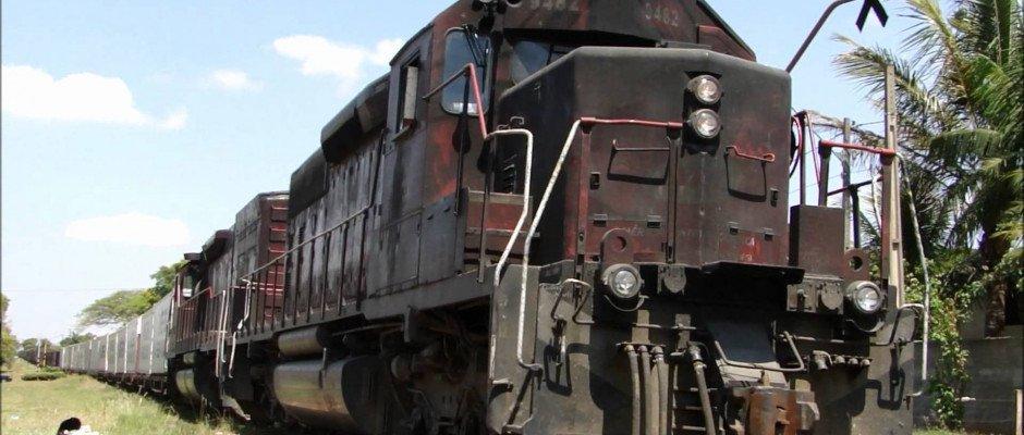 Transporte de Veículos em trens