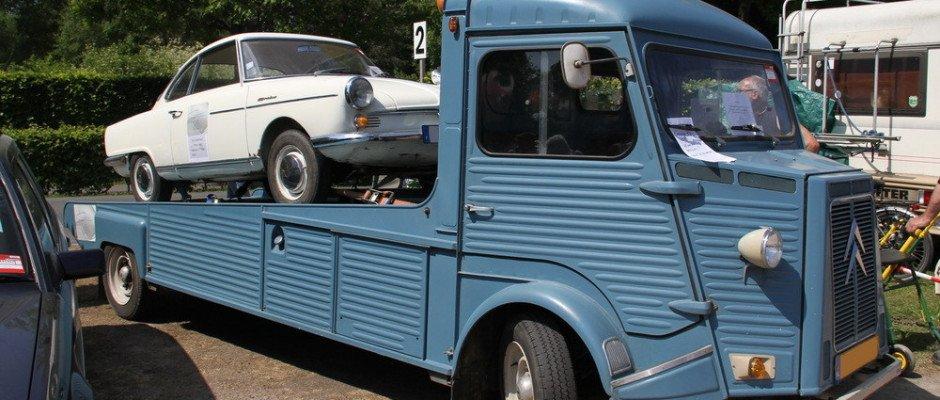 História do transporte de veículos no Brasil