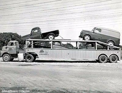 Historia Transporte de Veículos