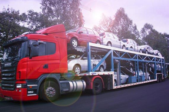 Serviço de Transporte de Veículos